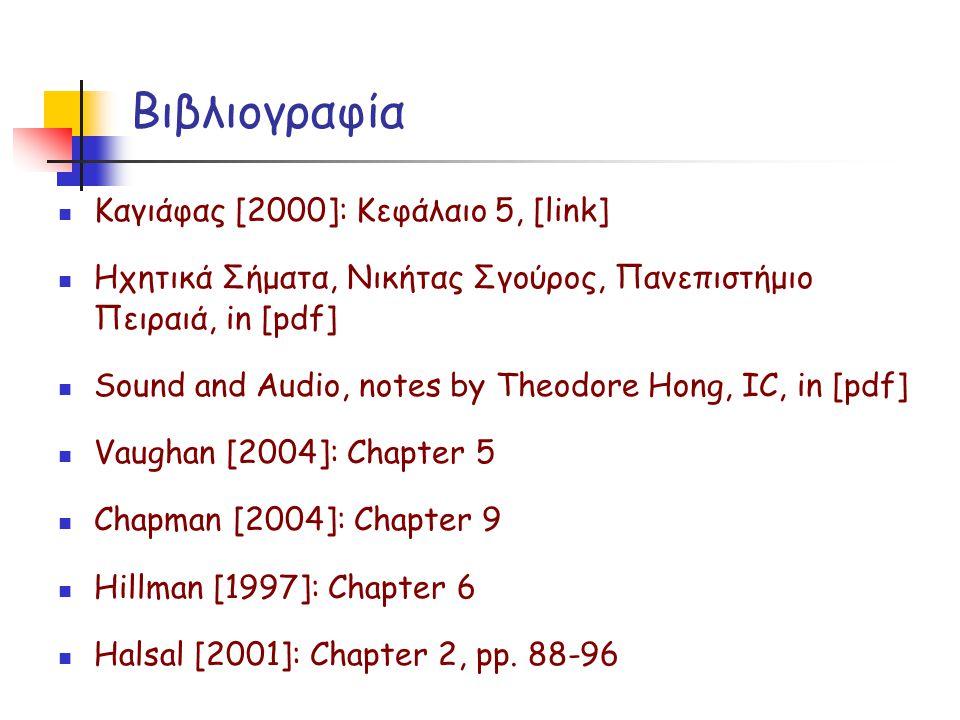 Βιβλιογραφία Καγιάφας [2000]: Κεφάλαιο 5, [link]
